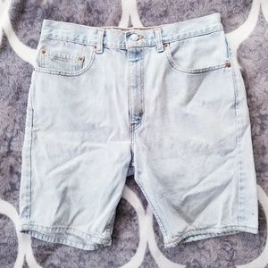 VTG Levi's Jean Shorts Jort Light Wash